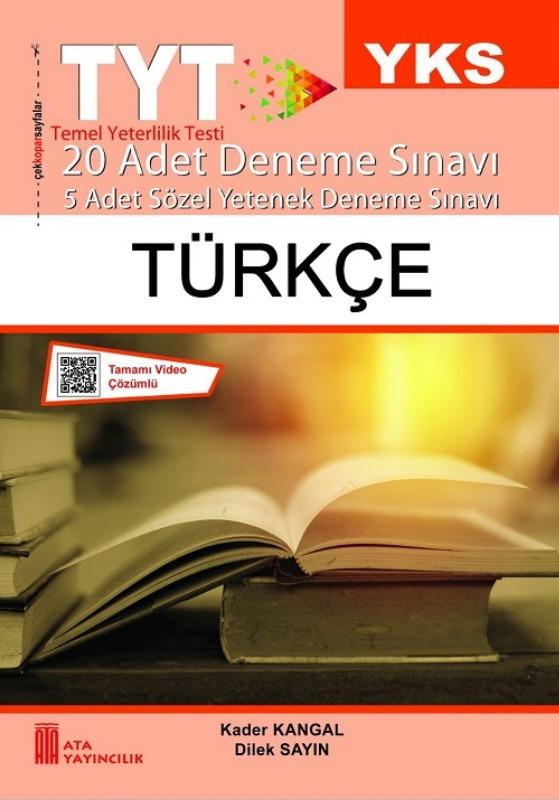 TYT Türkçe Deneme Sınavı Ata Yayınları