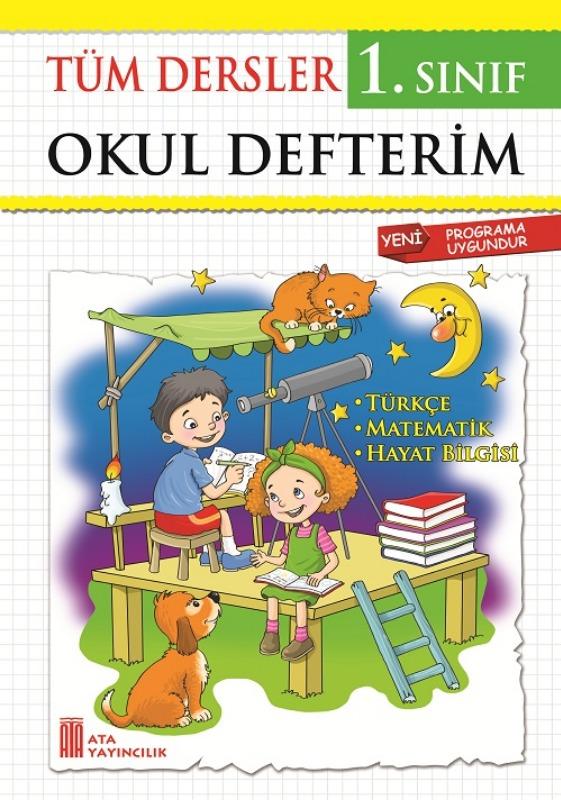 1. Sınıf Tüm Dersler Okul Defterim Ata Yayınları
