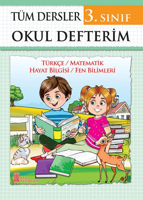 3. Sınıf Tüm Dersler Okul Defterim Ata Yayınları
