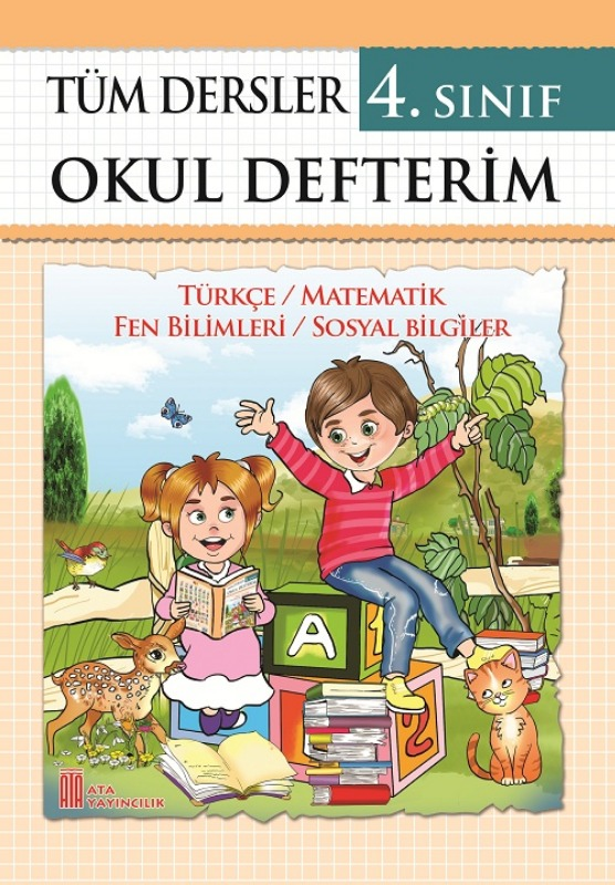 4. Sınıf Tüm Dersler Okul Defterim Ata Yayınları