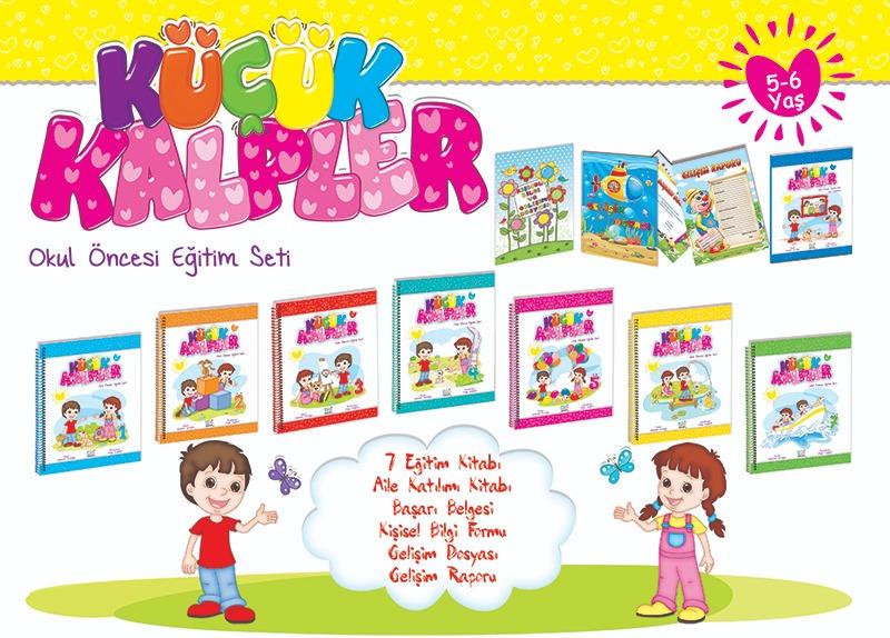 Küçük Kalpler Eğitim Seti (5 - 6 Yaş) Ata Yayınları