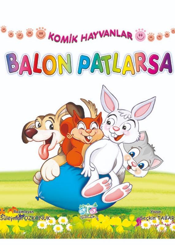 Komik Hayvanlar Öykü Dizisi Ata Yayınları