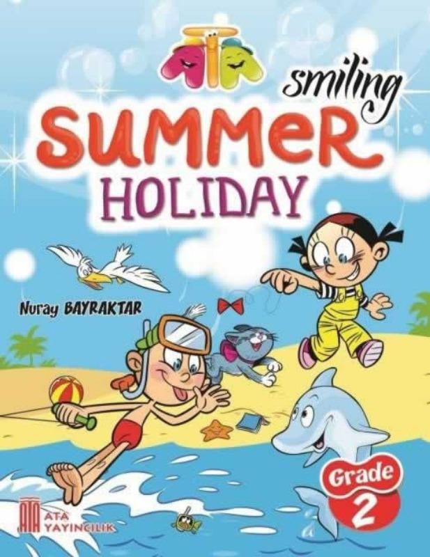 2. Sınıf İngilizce Tatil Kitabı Ata Yayınları