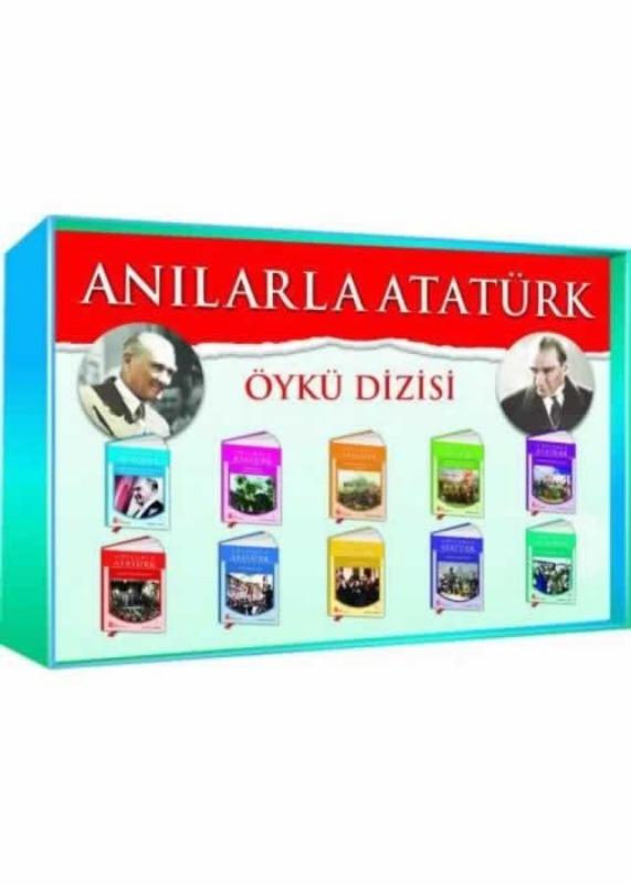 4. 5. 6. 7 ve 8. Sınıflar Anılarla Atatürk Öykü Dizisi  Ata Yayınları