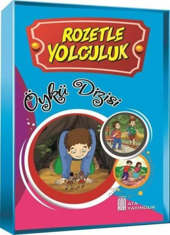2. 3 ve 4. Sınıflar Rozetle Yolculuk Öykü Dizisi  Ata Yayınları
