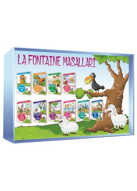 1. ve 2. Sınıflar La Fontaine Masalları  Ata Yayınları