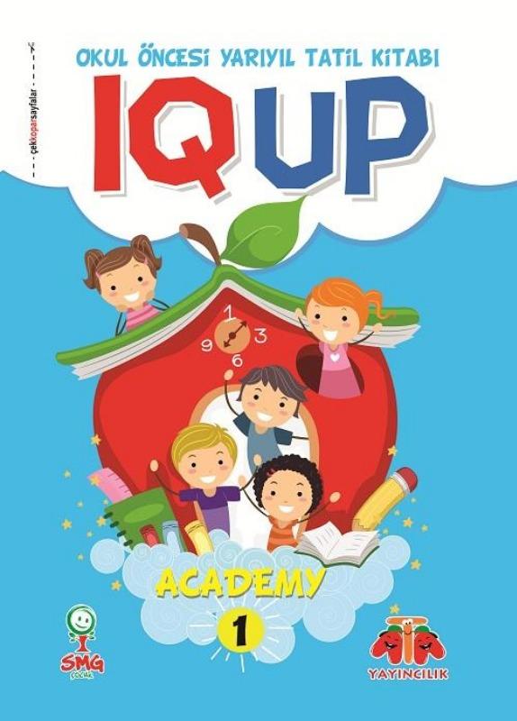 IQ UP ACADEMY 1 (Yarıyıl Tatil Kitabı)   Ata Yayınları