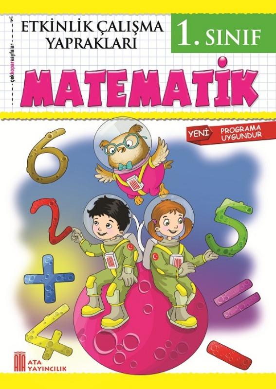 1. Sınıf Etkinlik Çalışma Yaprakları Matematik Ata Yayınları