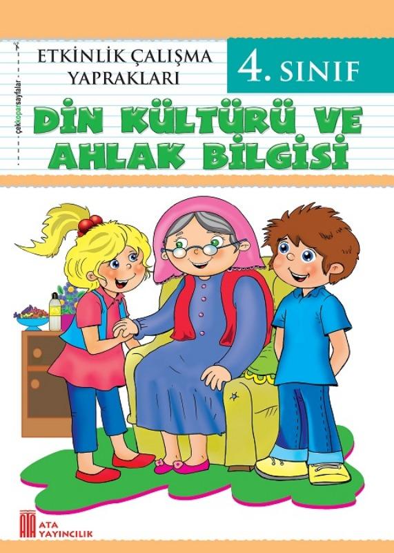 4. Sınıf Etkinlik Çalışma Yaprakları Din Kültürü ve Ahlak Bilgisi  Ata Yayınları