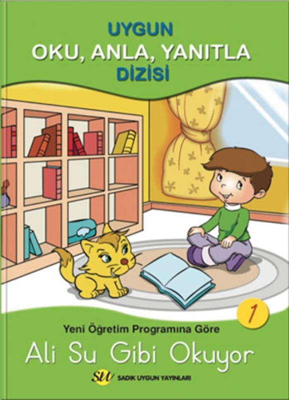 1.Sınıf Oku, Anla, Yanıtla Dizisi   Sadık Uygun Yayınları