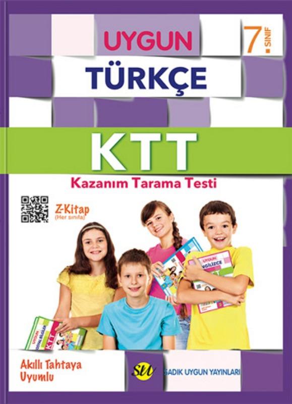 7. Sınıf Türkçe Kazanım Tarama Testi Sadık Uygun Yayınları