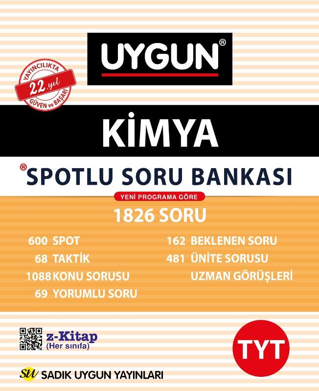 TYT Spotlu Kimya  Sadık Uygun Yayınları