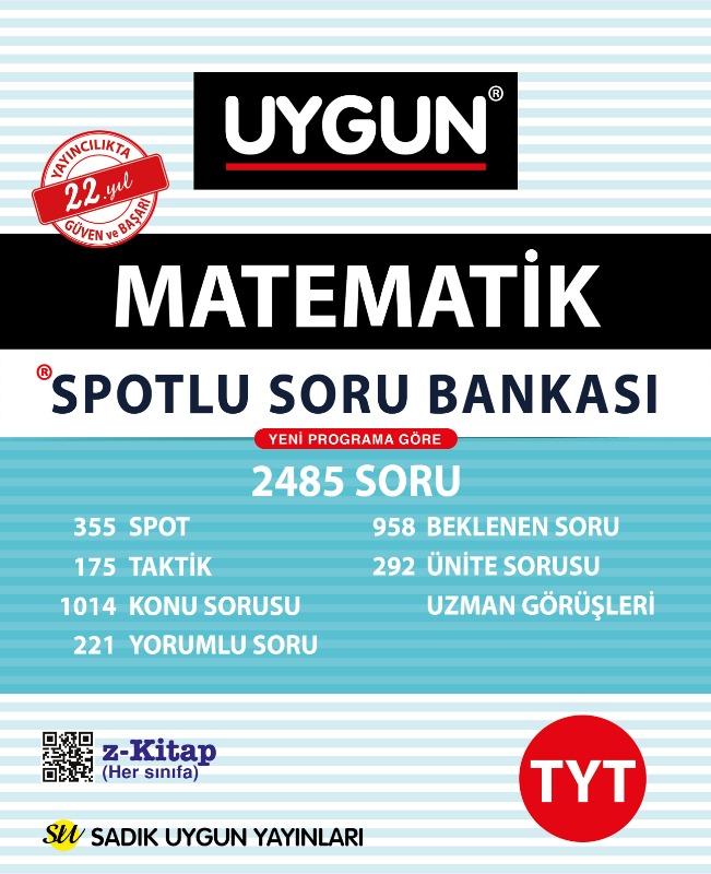 TYT Spotlu Matematik  Sadık Uygun Yayınları