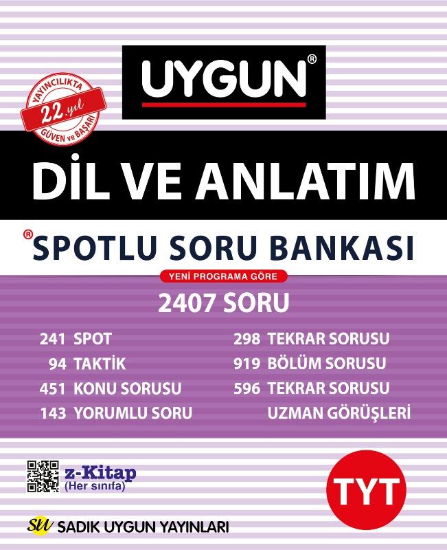 TYT Spotlu Dil ve Anlatım  Sadık Uygun Yayınları