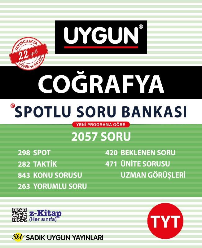 TYT Spotlu Coğrafya  Sadık Uygun Yayınları