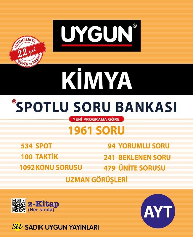 AYT Spotlu Kimya Sadık Uygun Yayınları