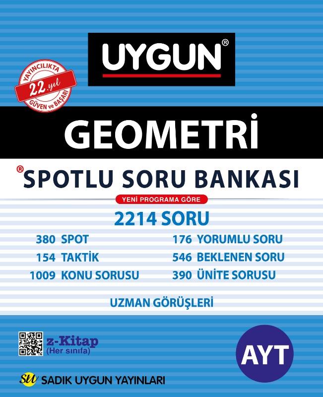 AYT Spotlu Geometri Sadık Uygun Yayınları