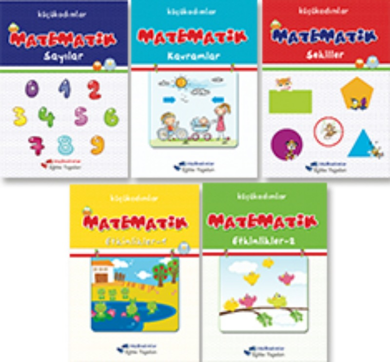 Matematik Seti 5li  Küçükadımlar Sadık Uygun Yayınları