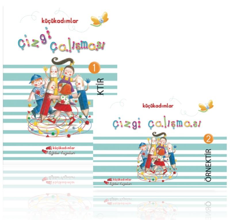 Çizgi Çalışmaları 1 (36-72 aylık çocuklar için) Sadık Uygun Yayınları