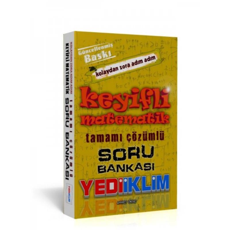 KPSS ALES DGS Keyifli Matematik Soru Bankası Yediiklim Yayınları