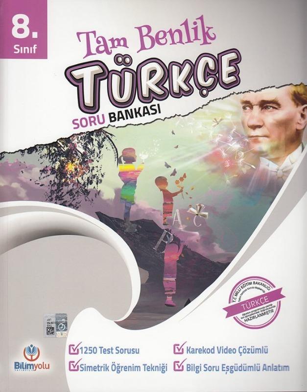Bilimyolu Yayıncılık 8. Sınıf Tam Benlik Türkçe Soru Bankası