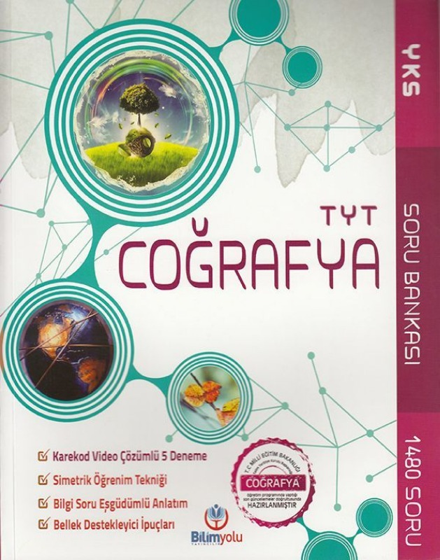 Bilimyolu Yayıncılık TYT Coğrafya Soru Bankası