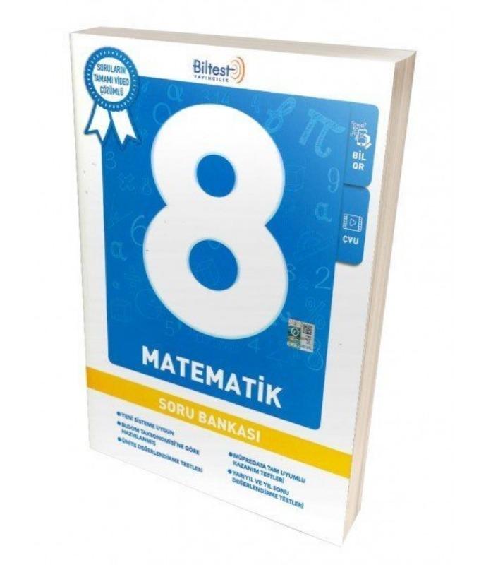 Biltest 8. Sınıf Matematik Video Çözümlü Soru Bankası