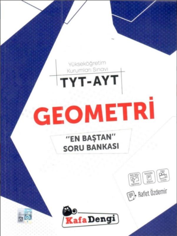 TYT AYT Geometri En Baştan Soru Bankası Kafadengi Yayınları