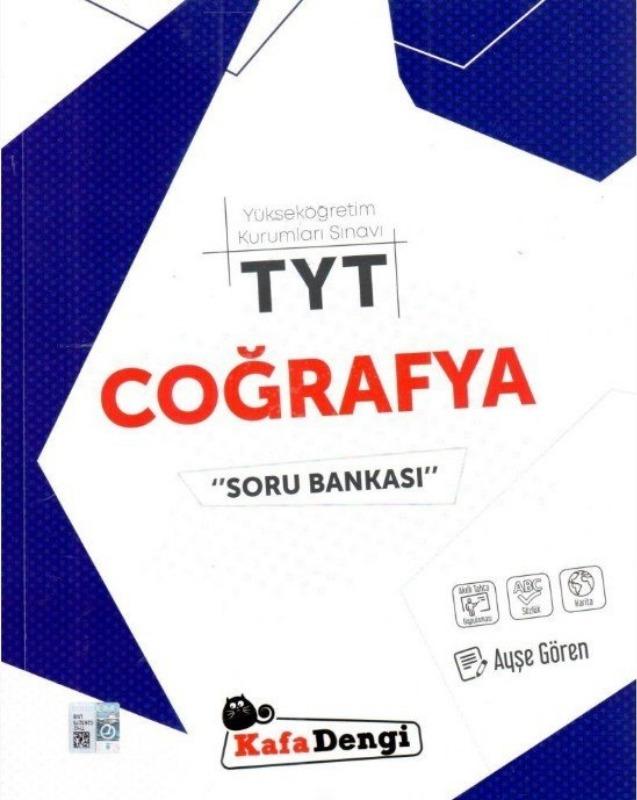 TYT Coğrafya Soru Bankası Kafadengi Yayınları