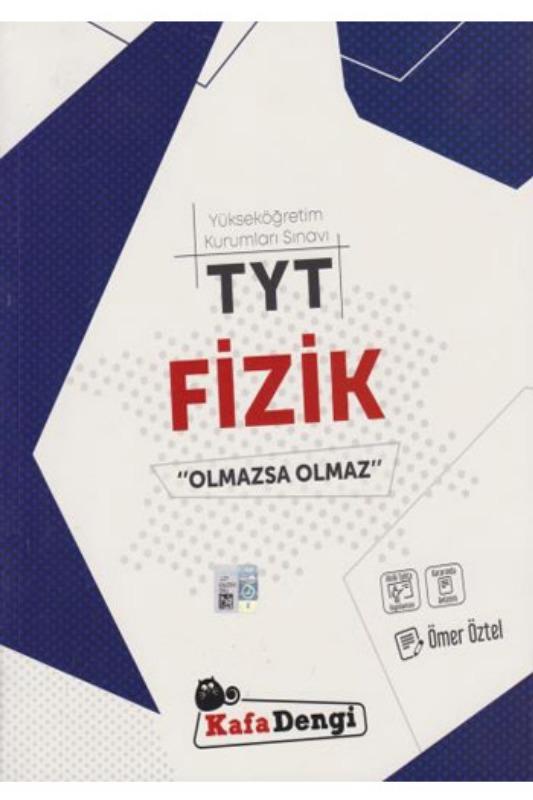 TYT Fizik Olmazsa Olmaz Soru Bankası Kafadengi Yayınları