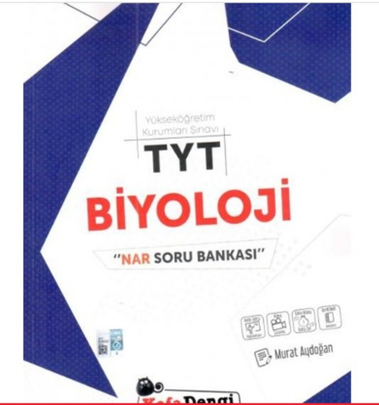 TYT Biyoloji Nar Soru Bankası Kafadengi Yayınları