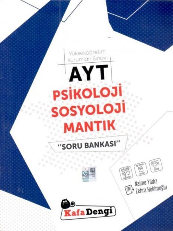 AYT Psikoloji Sosyoloji Mantık Soru Bankası Kafadengi Yayınları