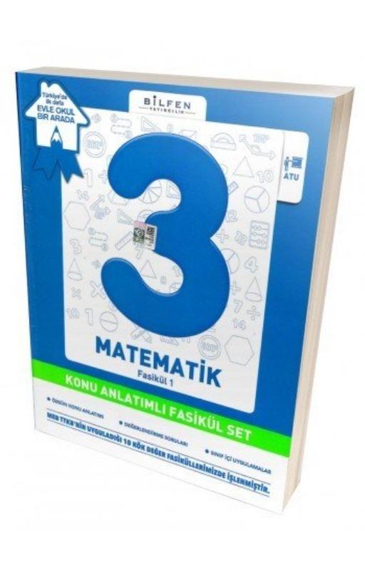 Bilfen 3. Sınıf Matematik Konu Anlatımlı Fasikül Set