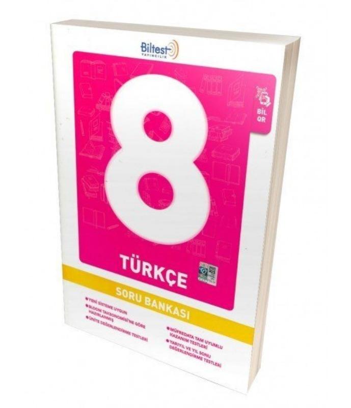 Biltest 8. Sınıf Türkçe Soru Bankası