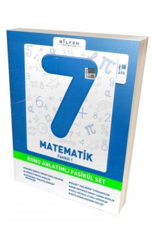Bilfen 7. Sınıf Matematik Konu Anlatımlı Fasikül Set