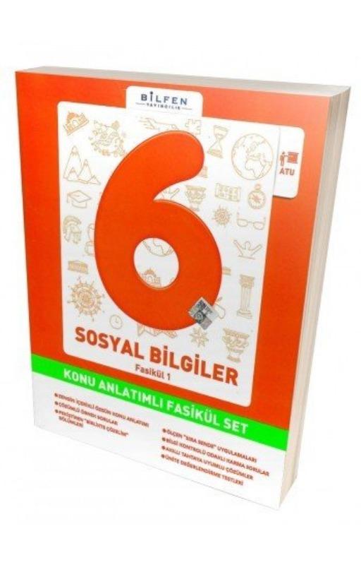 Bilfen 6. Sınıf Sosyal Bilgiler Konu Anlatımlı Fasikül Set
