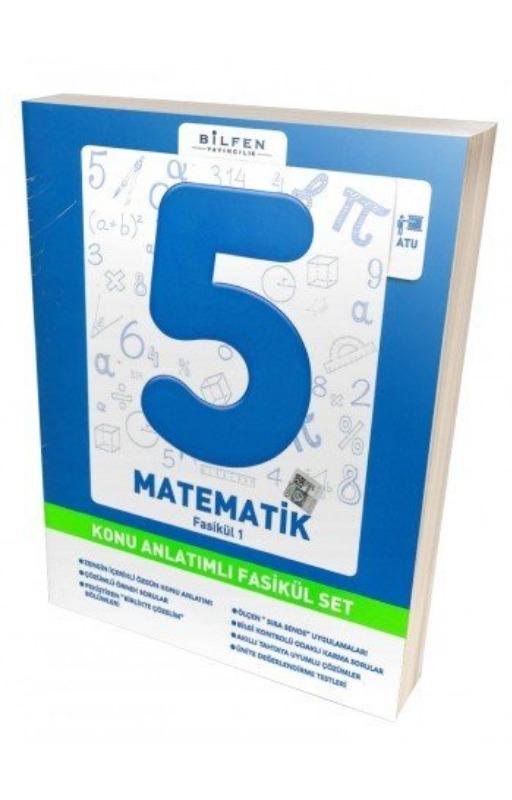 Bilfen 5. Sınıf Matematik Konu Anlatımlı Fasikül Set
