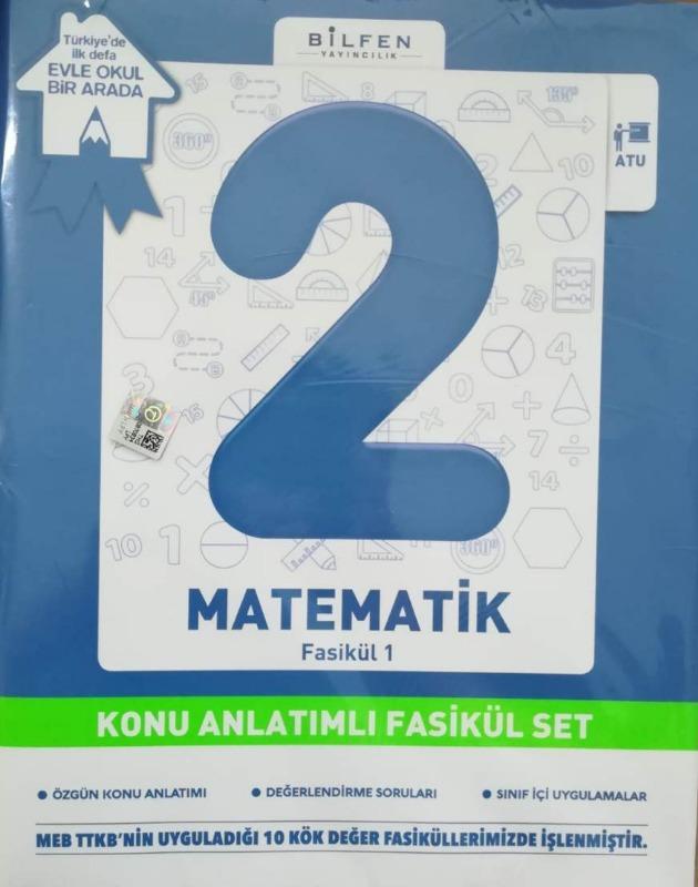 Bilfen 2. Sınıf Matematik Konu Anlatımlı Fasikül Set