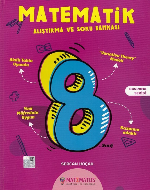 Matematus 8.Sınıf Matematik Alıştırma ve Soru Bankası