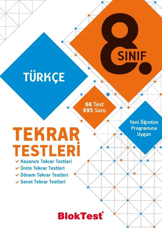 8.Sınıf Türkçe Tekrar Testleri Tudem Yayınları