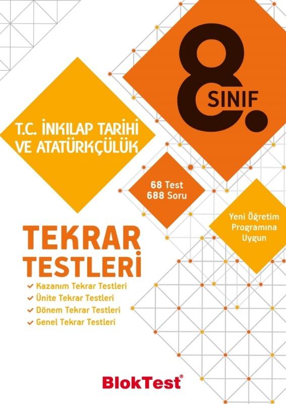 8.Sınıf T.C. İnkılap Tarihi ve Atatürkçülük Tekrar Testleri  Tudem Yayınları
