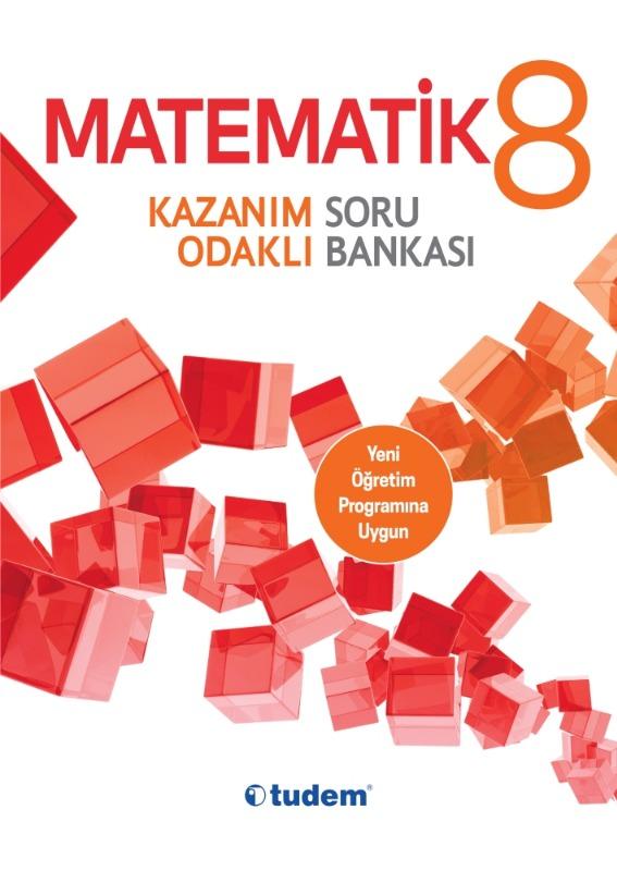 8.Sınıf Matematik Kazanım Odaklı Soru Bankası Tudem Yayınları