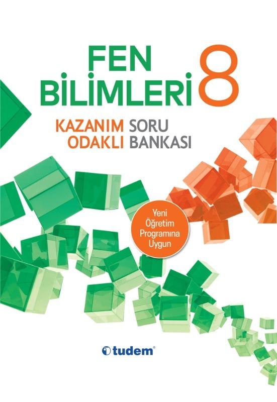 8.Sınıf Fen Bilimleri Kazanım Odaklı Soru Bankası Tudem Yayınları