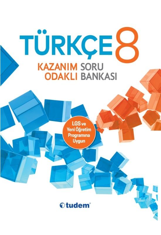 8.Sınıf Türkçe Kazanım Odaklı Soru Bankası Tudem Yayınları
