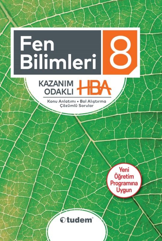 8.Sınıf Fen Bilimleri Kazanım Odaklı HBA Tudem Yayınları