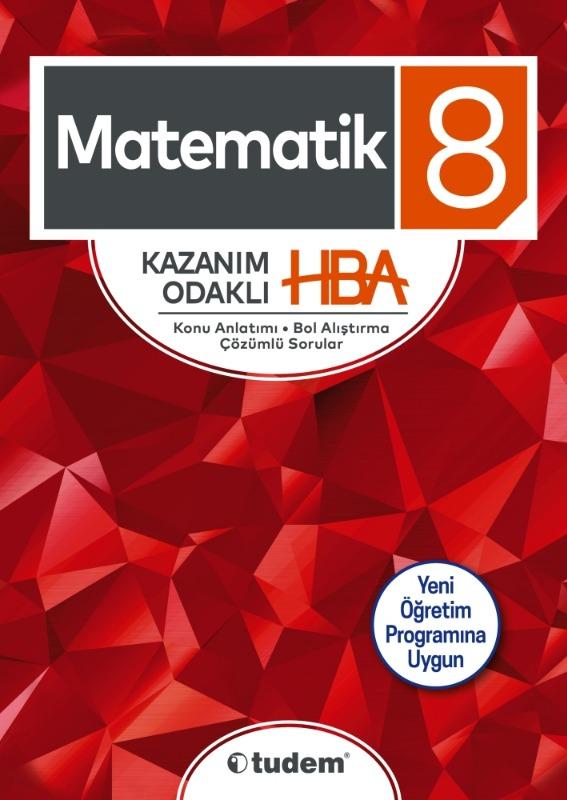 8.Sınıf Matematik Kazanım Odaklı HBA Tudem Yayınları