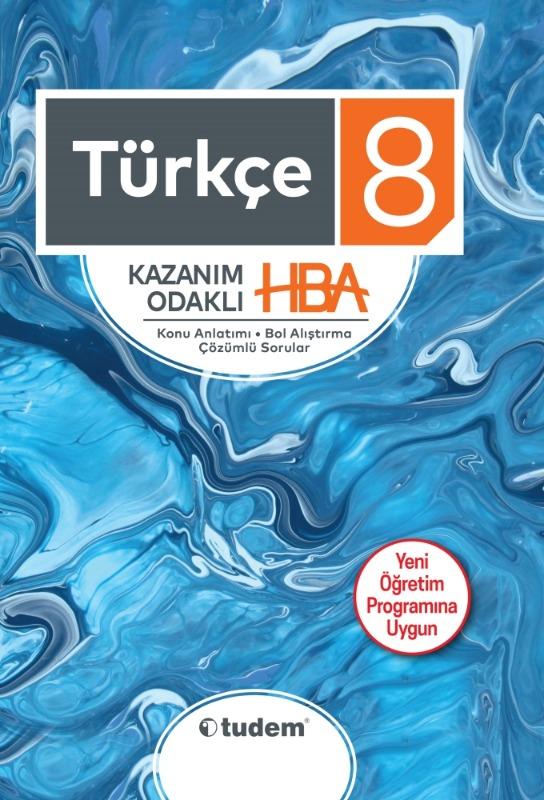 8.Sınıf Türkçe Kazanım Odaklı HBA  Tudem Yayınları