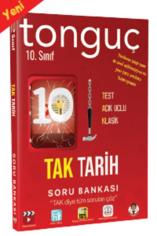 Tonguç Yayınları 10. Sınıf TAK Tarih Soru Bankası
