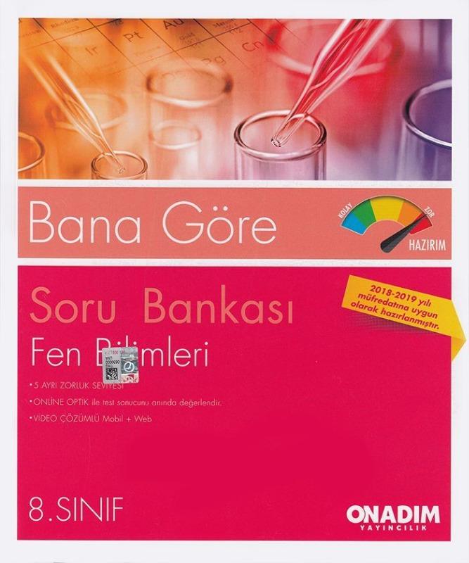 Onadım Yayıncılık 8. Sınıf Fen Bilimleri Soru Bankası
