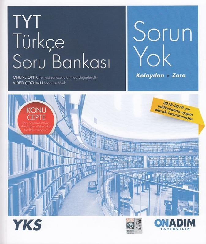 Onadım Yayıncılık TYT Türkçe Soru Bankası